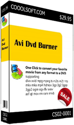 Awesome AVI DVD Burner!